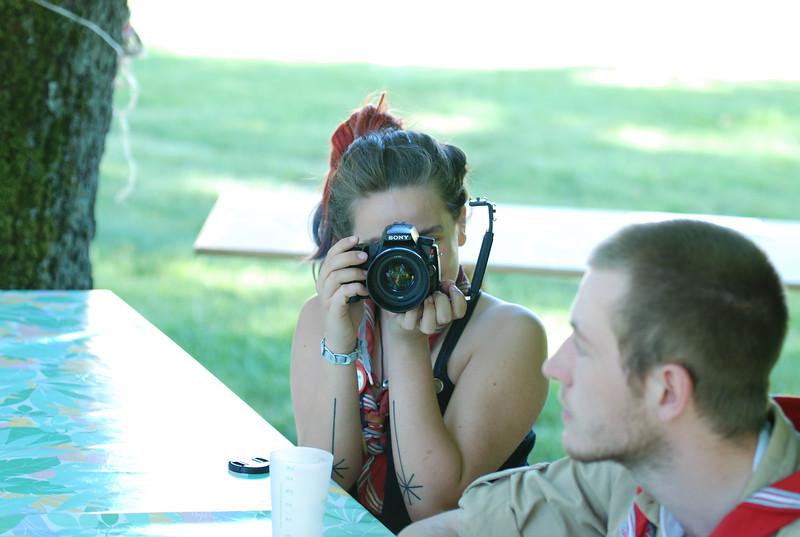 Rosana a piqué l'appareil photo d'un des photographes de LaToileScoute !