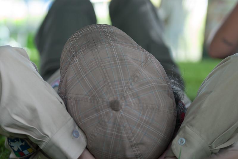 Sous la casquette