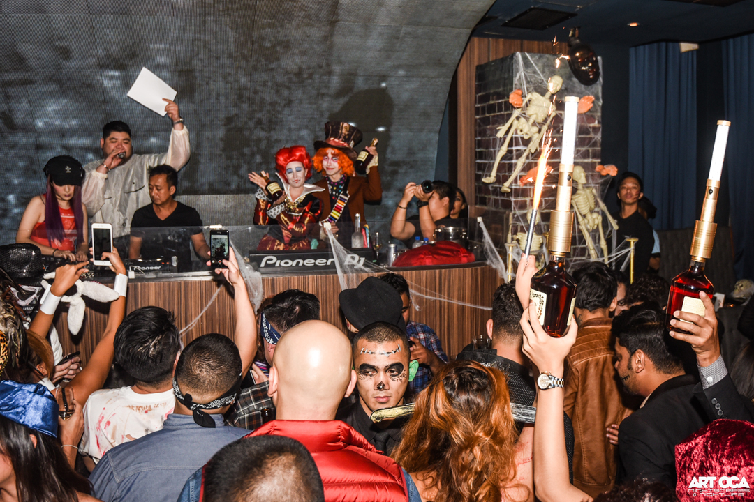 Halloween at Valkyrie and Revel at The Palace (72)