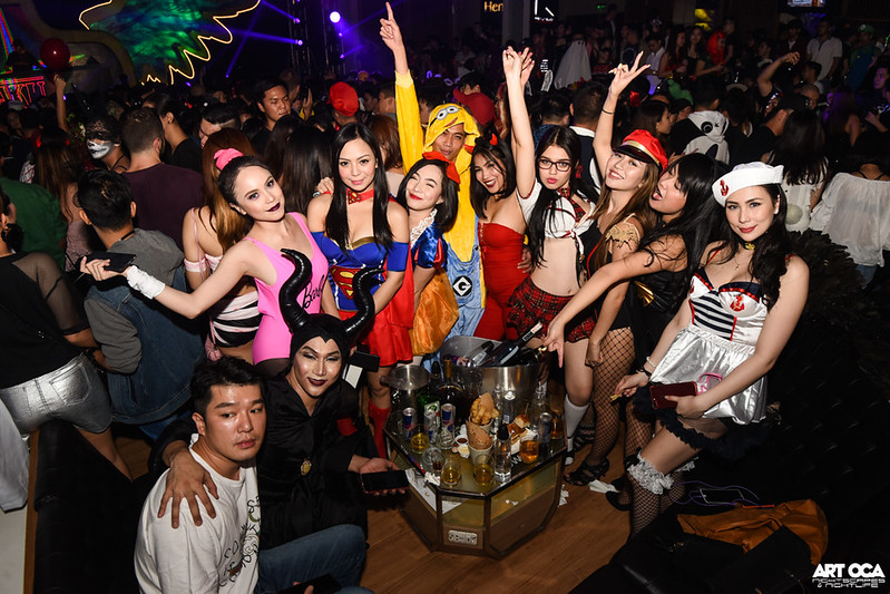 Halloween at Valkyrie and Revel at The Palace (99)