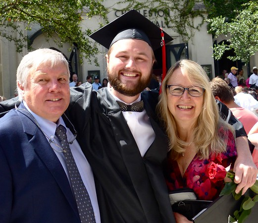 Craig's Graduation from AI June 2017