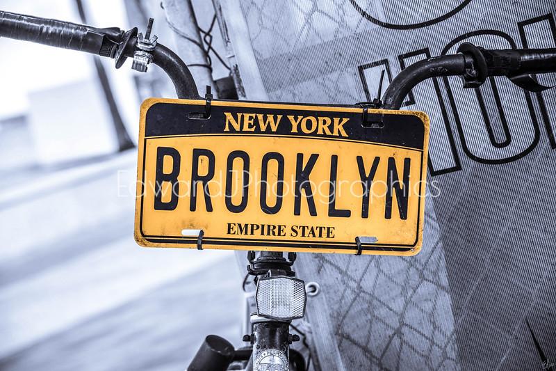 NYC Bike Plate...