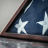 Memorial Day Folded Casket Flag...