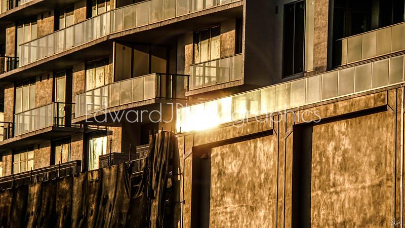 Sunset Sunbeam Reflection