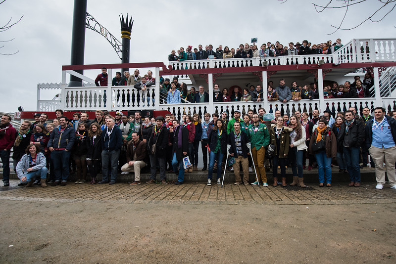 Photo de groupe de l'AG EEUDF 2015