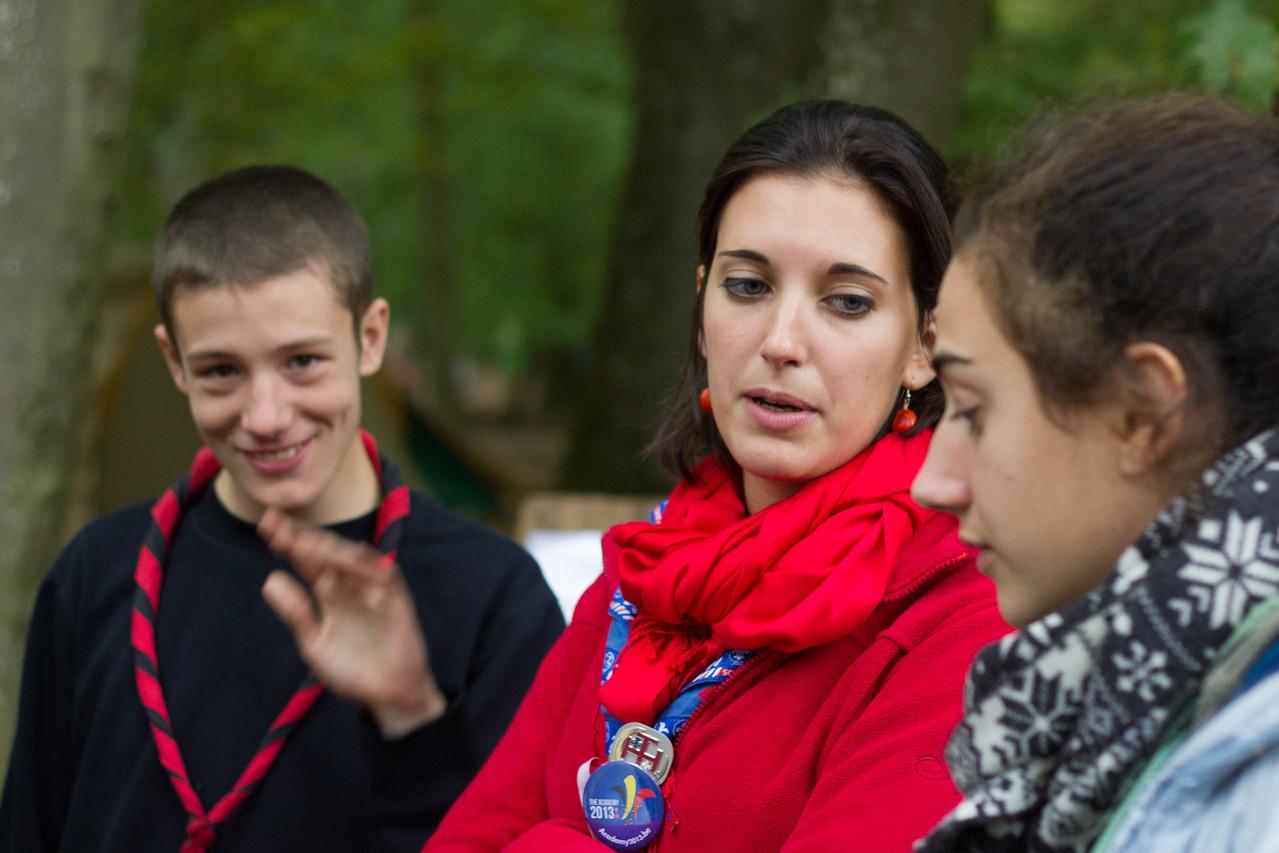 Table ronde Roverway - Scoutisme Français - Scouts et Guides de France
