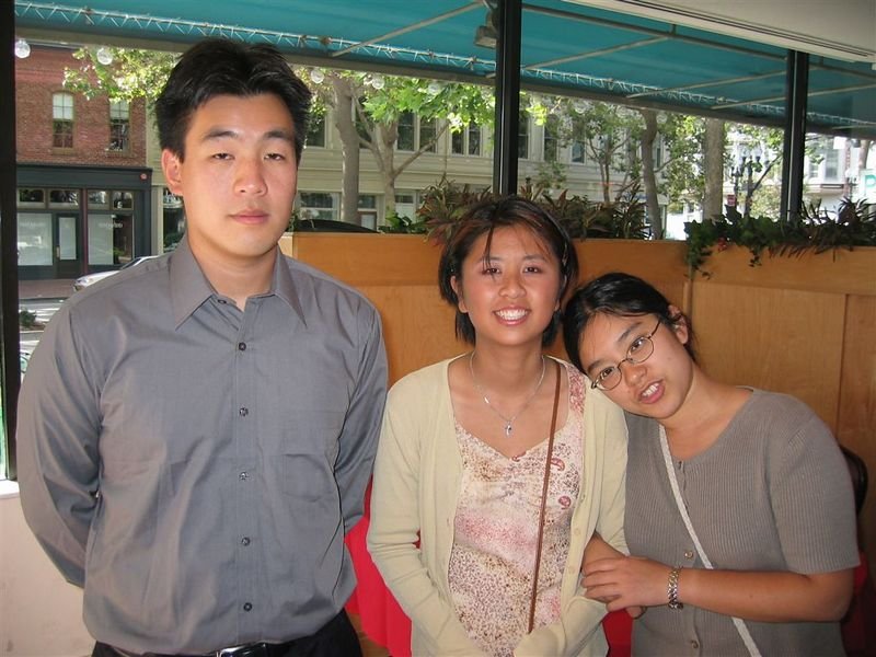 Steve Chang, Windy Chen, & Janet Mak @ Reception