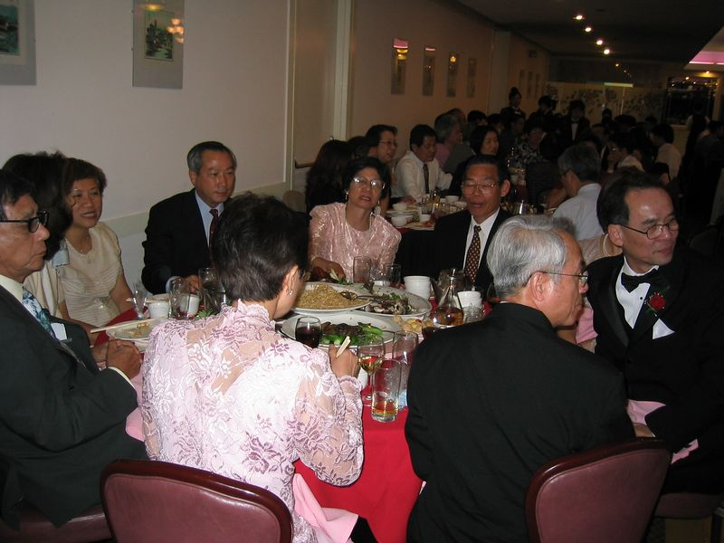 Reception - Family and VIP table