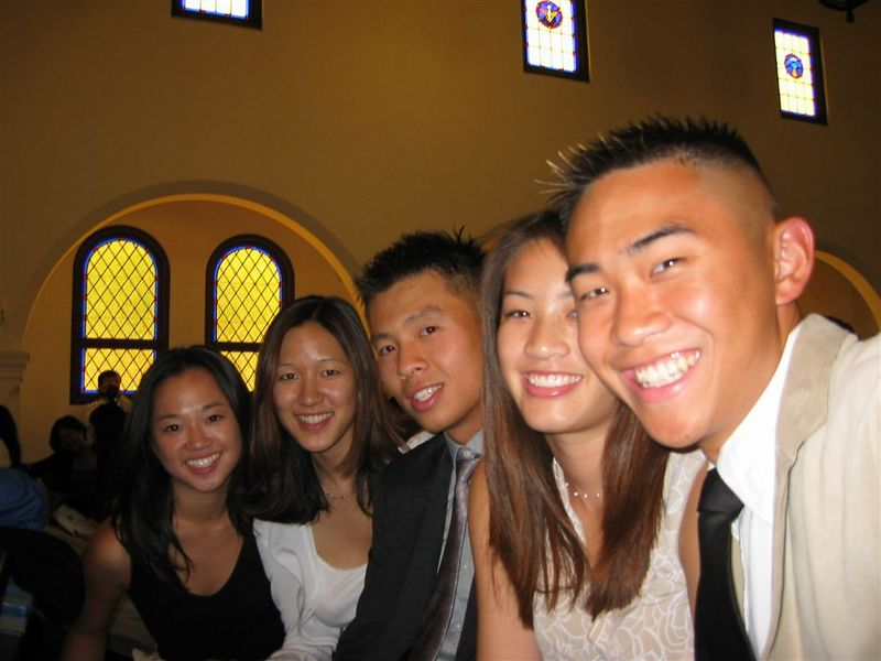 Theresa Ly, Joyce, Chan, Chris Ling, Tracy, & Ben Poon @ Ceremony