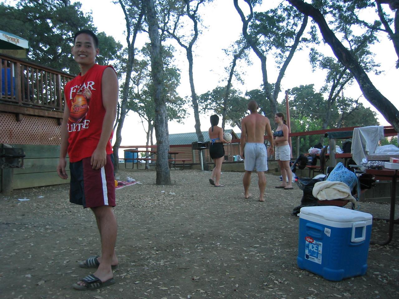 2003 08 16 Saturday - Lake Berryessa Trip,  Jimmy Chen, Chang siblings