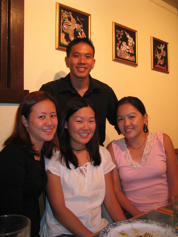 2003 09 05 Friday - Joe Chen, Joanna Chi, Leslie Lin, Bernice Chen
