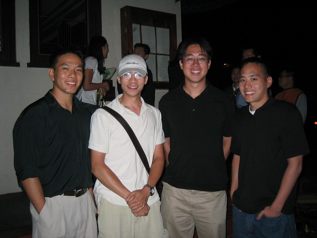 2003 09 05 Friday - Joe Chen, Ben Yu, Stephen Chang, Jimmy Chen