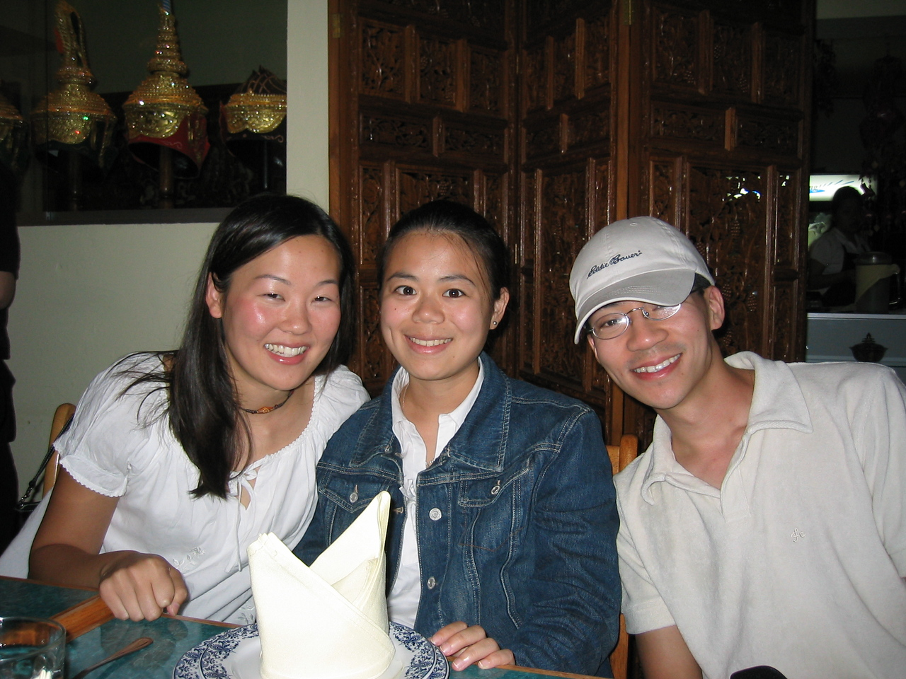 2003 09 05 Friday - Leslie Lin, Annie Chang, Ben Yu