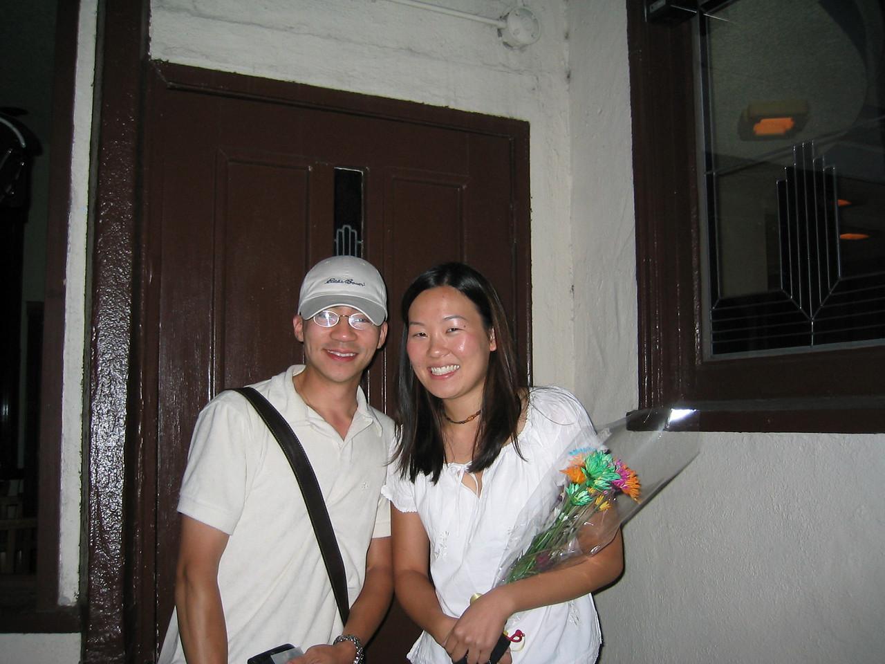 2003 09 05 Friday - Ben Yu & Leslie Lin