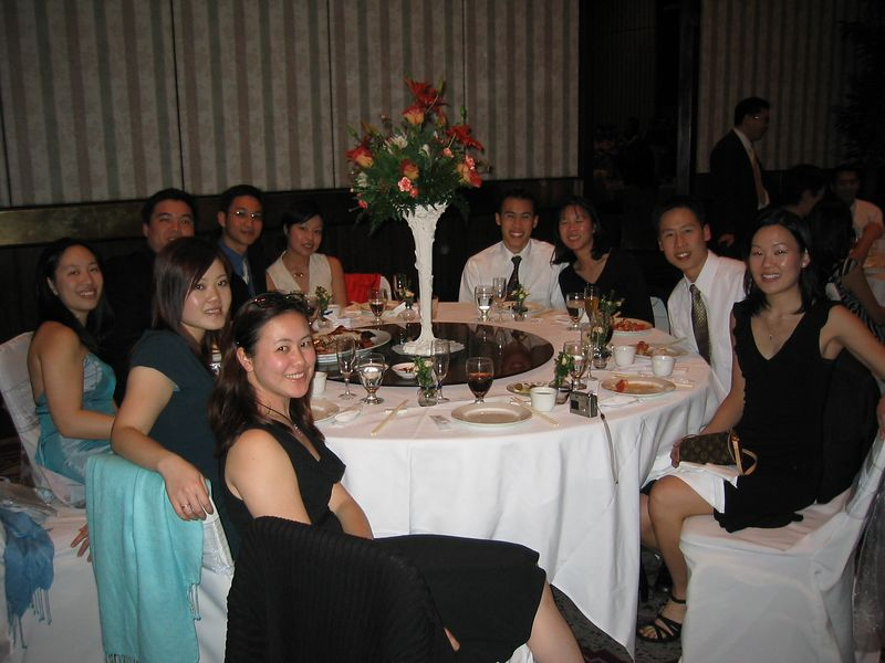 Reception - EFC Berkeley table 1