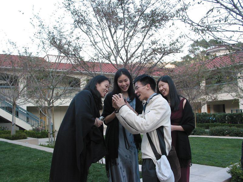 Jane, Sing-yi, Ben, & Lillian ogle @ twinness