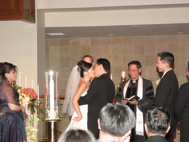 Pronounced Man & Wife - The Kiss