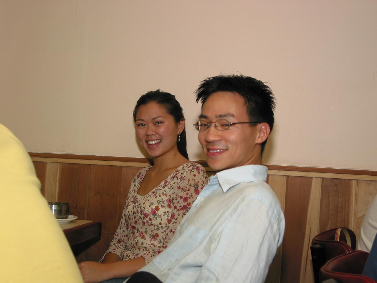2004 08 06 Friday - Tiffany & Ben @ Koryo's BBQ