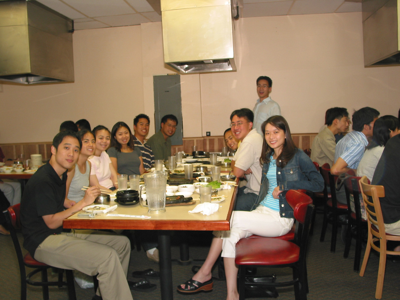 2004 08 06 Friday - Group pic 1 @ Koryo's BBQ