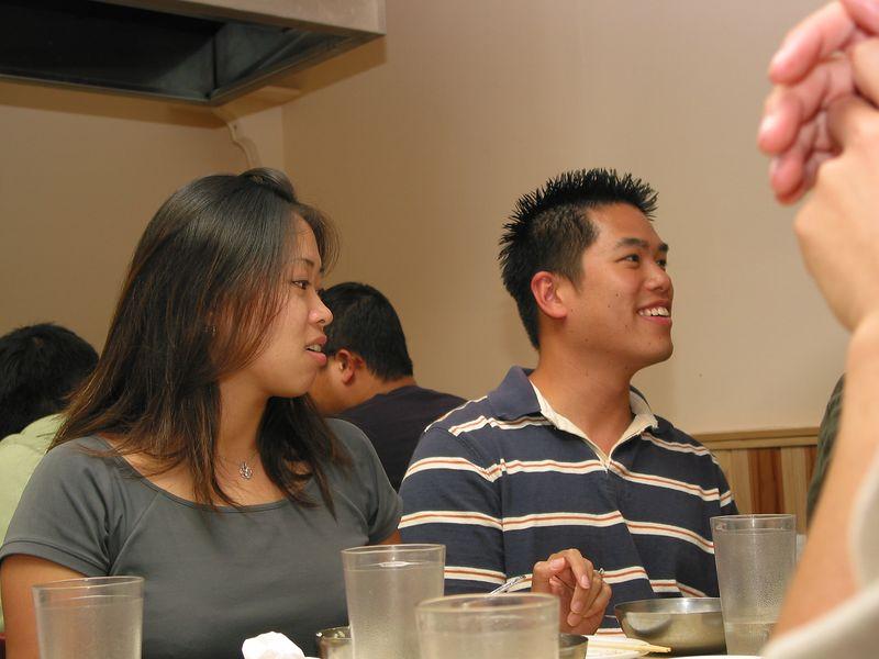 2004 08 06 Friday - Julie & Johnny @ Koryo's BBQ