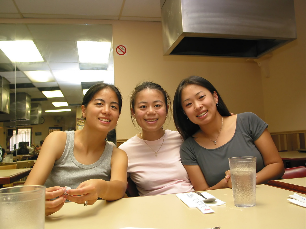 2004 08 06 Friday - Audrey, Annie, & Julie @ Koryo's BBQ
