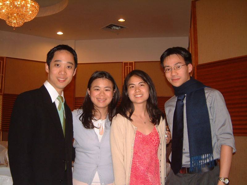 2005 04 23 Saturday - Andy, Annie, Audrey, & Ben @ Mike & Amy Lee's wedding - Andy Wu's camera