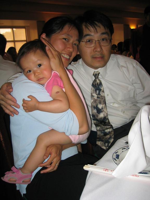 Reception - Ally, Jenny, & Brian Chiang