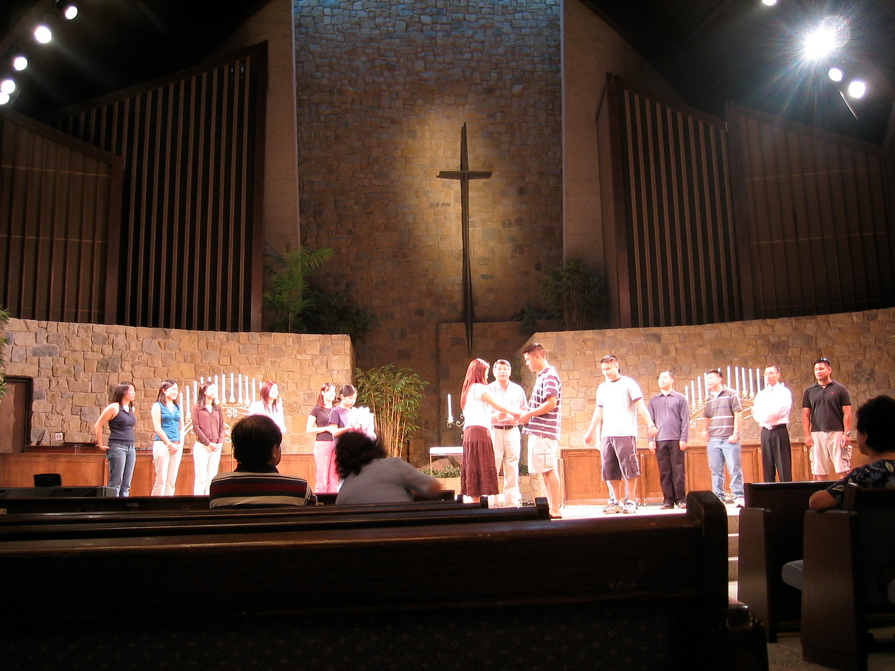Rehearsal - Exchange of vows
