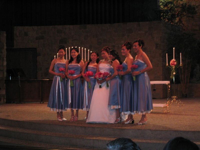 Ceremony - Bride's wedding party
