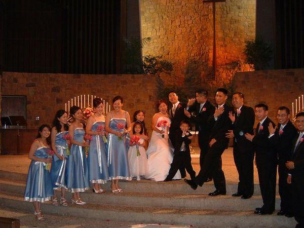 Ceremony - Wedding party 1