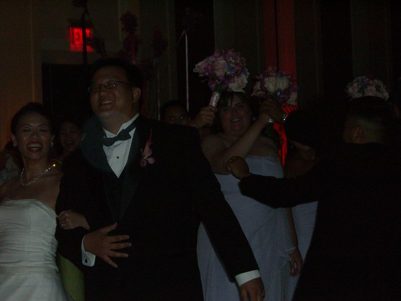 Reception - Welcoming the bride & groom
