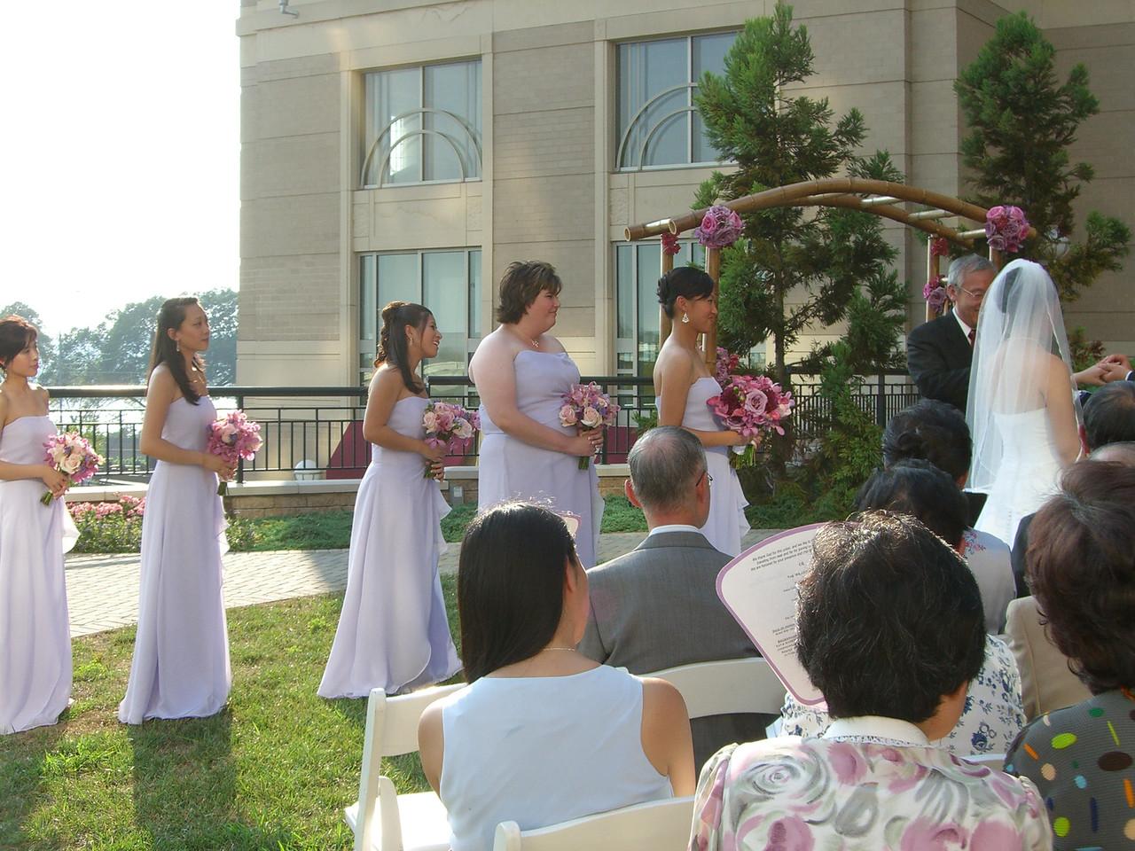 Ceremony - Bride's party 2
