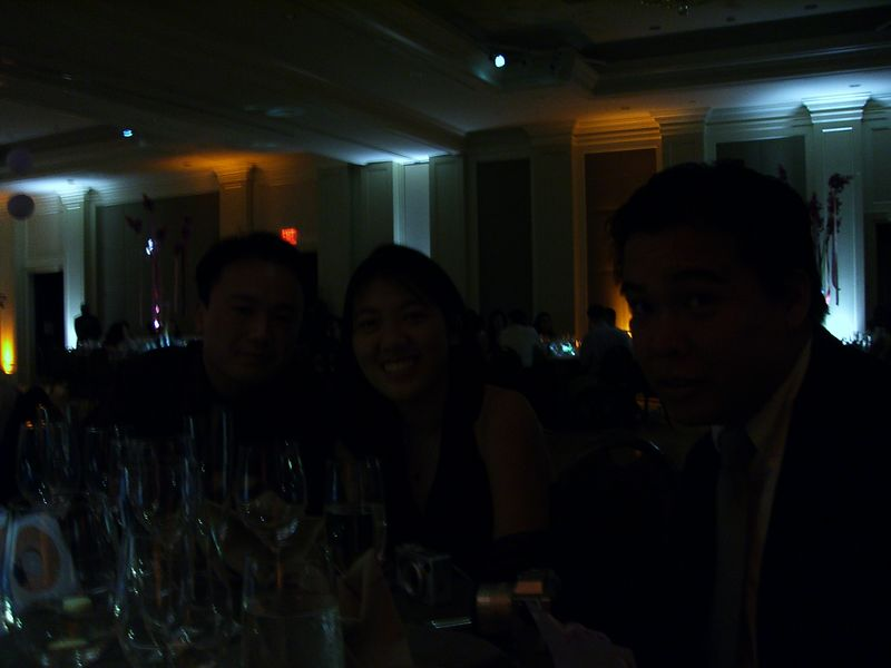 Reception - Mike & Natalie Liu and Lawrence Joe - underexposed