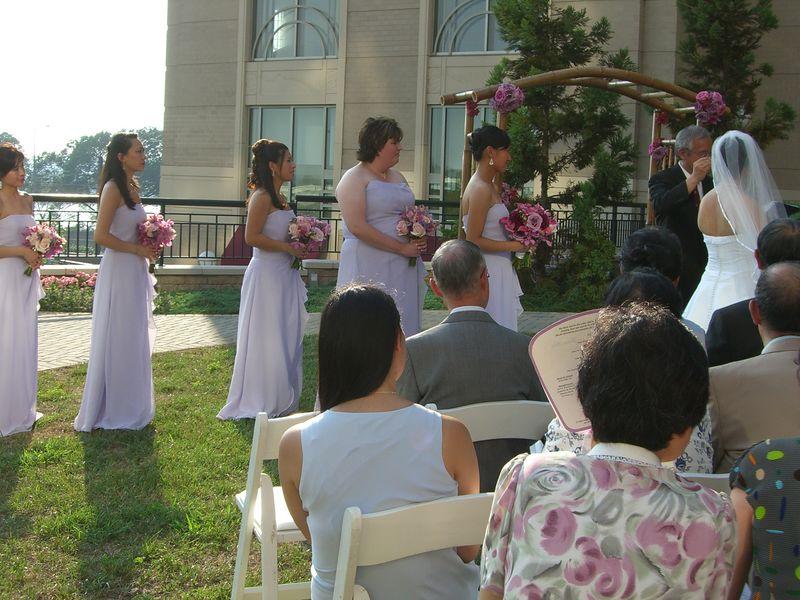 Ceremony - Bride's party 1