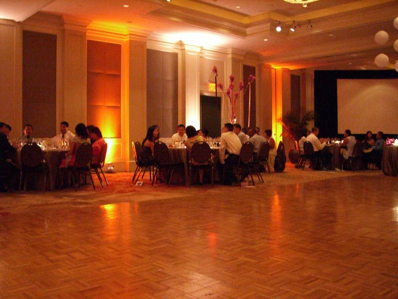 Reception - Across the floor