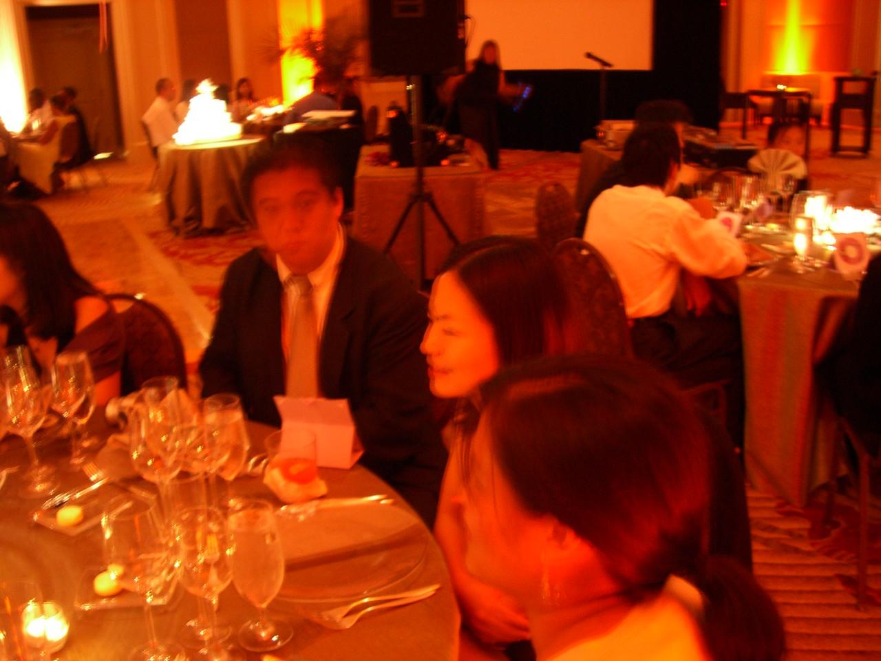 Reception - Lawrence Joe, Kelly Chang, & Eve Tam 2