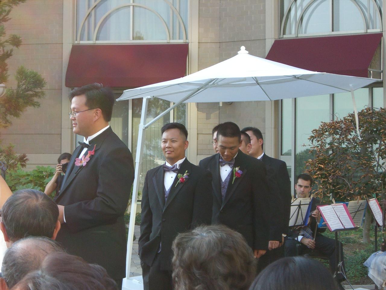 Ceremony - Groom's party