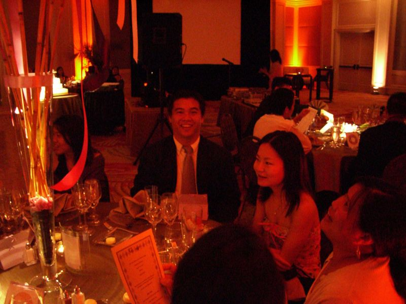 Reception - Lawrence Joe, Kelly Chang, & Eve Tam 1