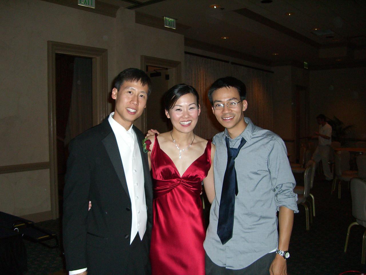 Dave Lee, Leslie Lee, & Ben Yu