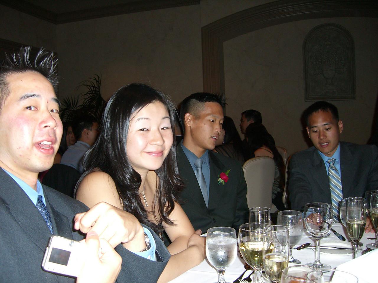 Henry 'Cheeks' Peng, Cathy & Kuangshin Tai, and Jimmy Chen