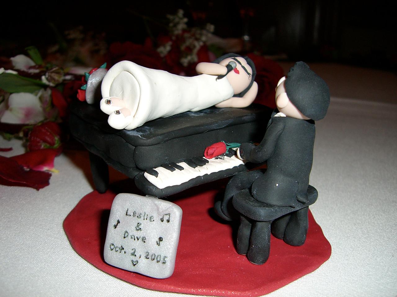 Jessica Low's Custom Cake Ornament - with flash
