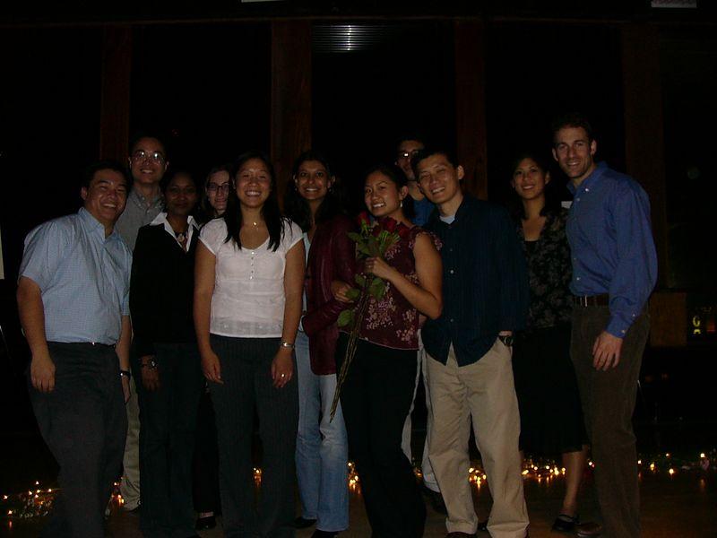 Group photo inside