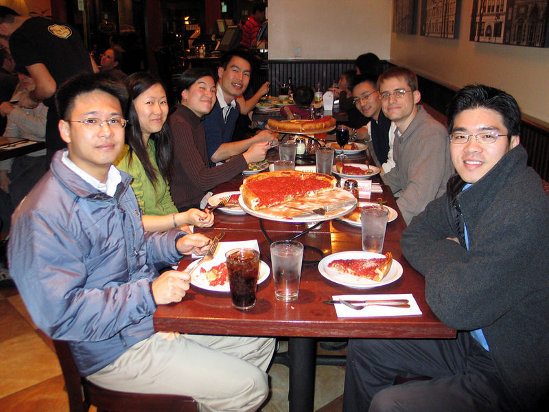 2006 03 07 Tue - Group pic - Philip Pan, Grace, Kristy, Ted, Ben Yu, Cory Benavides, and Andy Chang