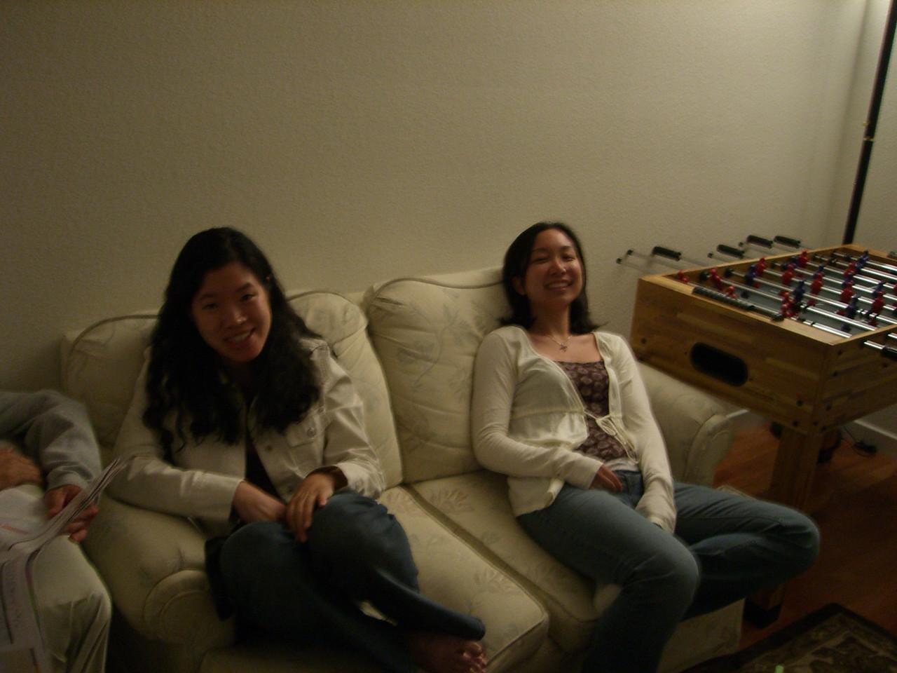 2006 06 17 Sat - Amy Wong & Renee Lee