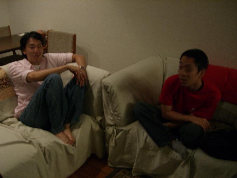 2006 06 17 Sat - Erick Lu & Andy Wu
