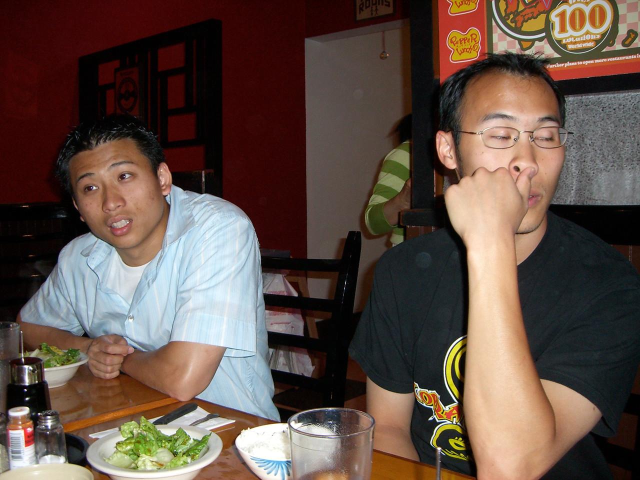 2006 06 17 Sat - Wing Ho & Steven Hu