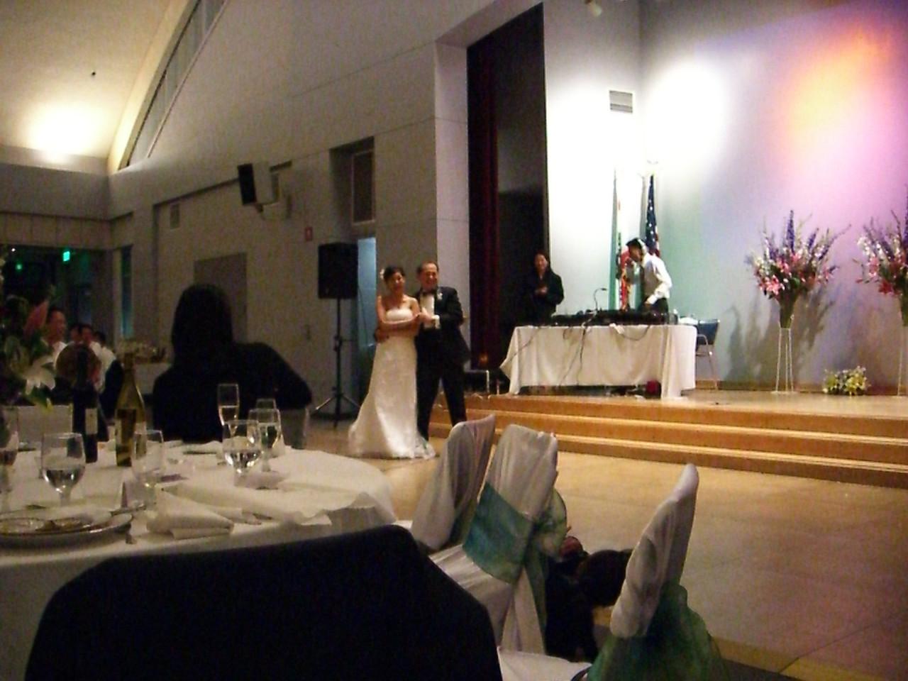 2006 06 18 Sun - Father & Bride dance 1