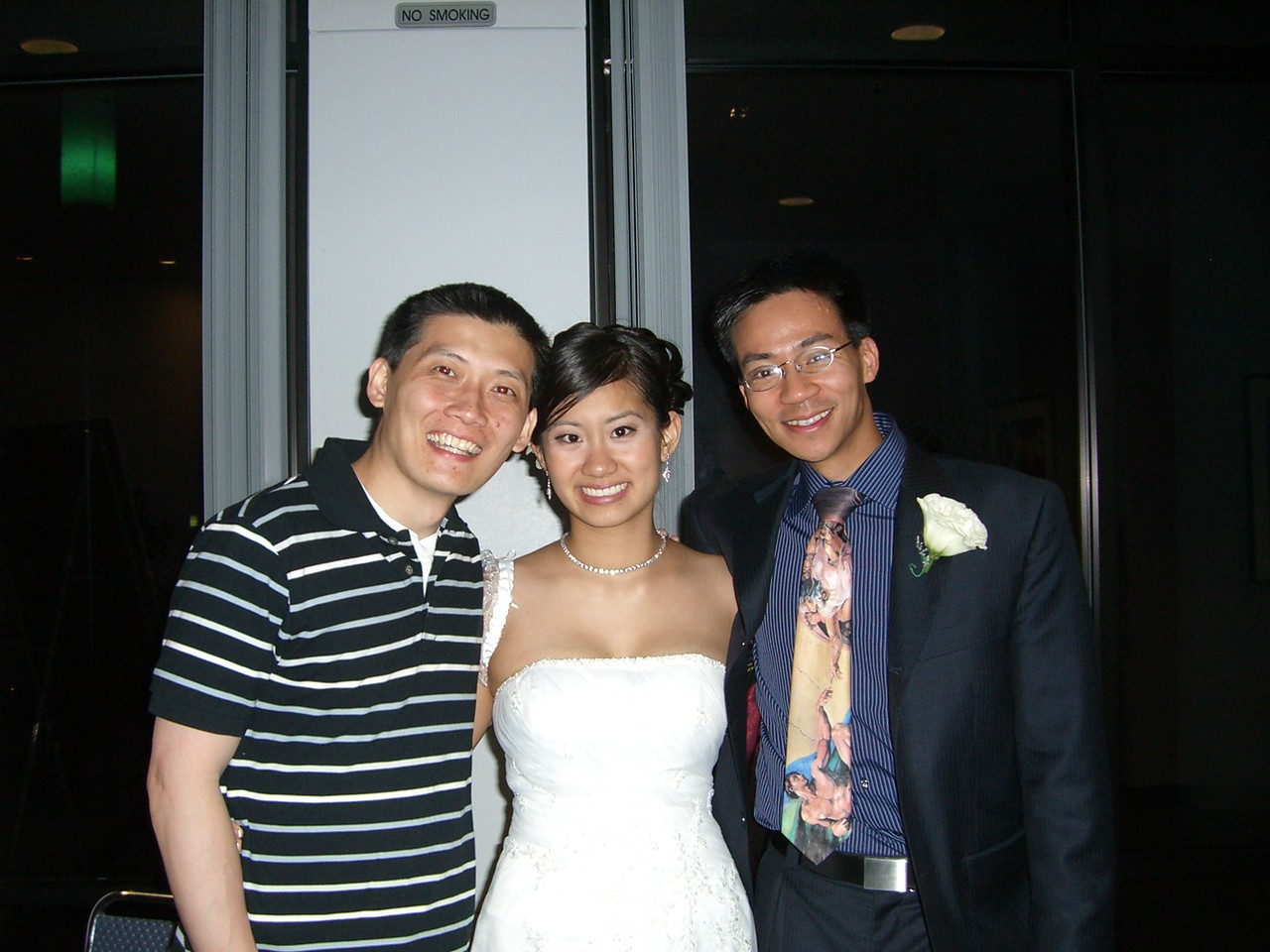2006 06 18 Sun - Mike & Brittany Chen, and Ben Yu