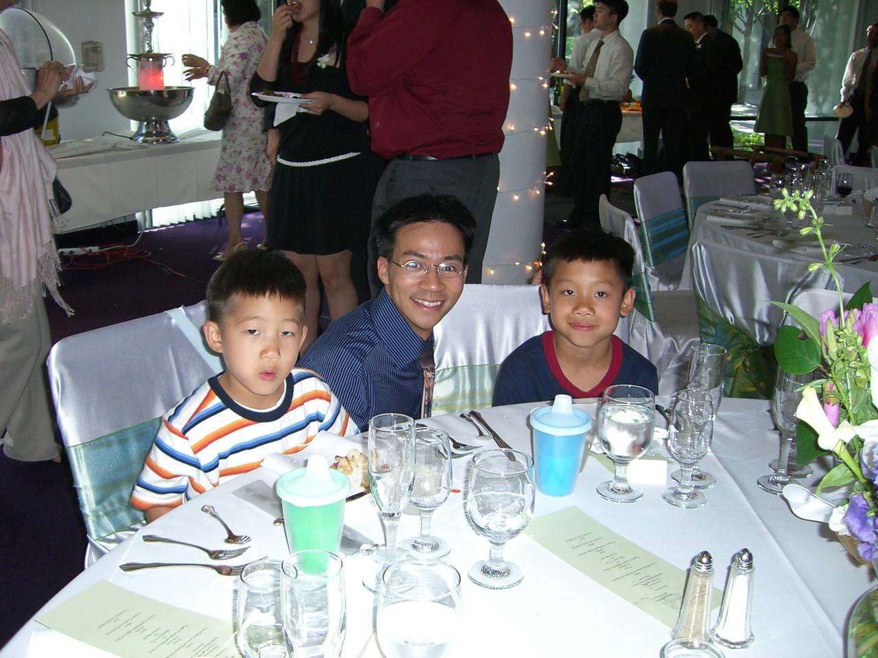 2006 06 18 Sun - Tristan Chu, Ben Yu, & Harrison Chu