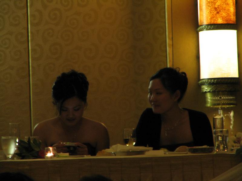 2006 10 08 Sun - Reception - Bernice Chen & Leslie Lee 3